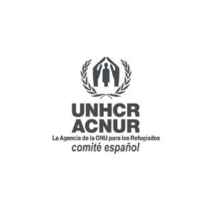 Logo Comité Español ACNUR
